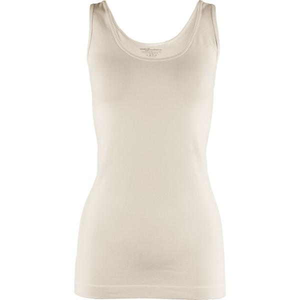 Magic SmoothWear Tanks & Sleeveless   Ivory Tank (Brushed Fiber) - One Size Fits (S-XL) Tanks