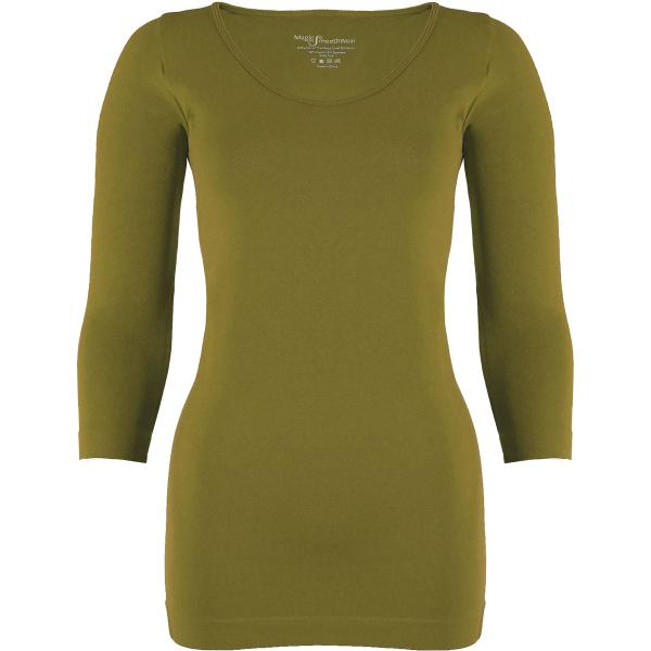 wholesale Magic SmoothWear with Sleeves Avocado Three Quarter Sleeve - One Size Fits (S-XL) TQ