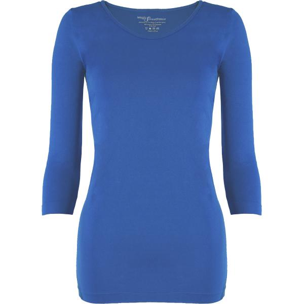 wholesale Magic SmoothWear with Sleeves Blue Three Quarter Sleeve - One Size Fits (S-XL) TQ