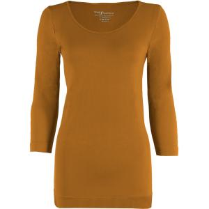 wholesale Magic SmoothWear Three Quarter & Long Sleeve Copper Three Quarter Sleeve - One Size Fits (S-XL) TQ
