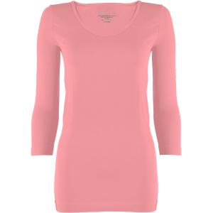 wholesale Magic SmoothWear Three Quarter & Long Sleeve Light Pink Three Quarter Sleeve - One Size Fits (S-XL) TQ