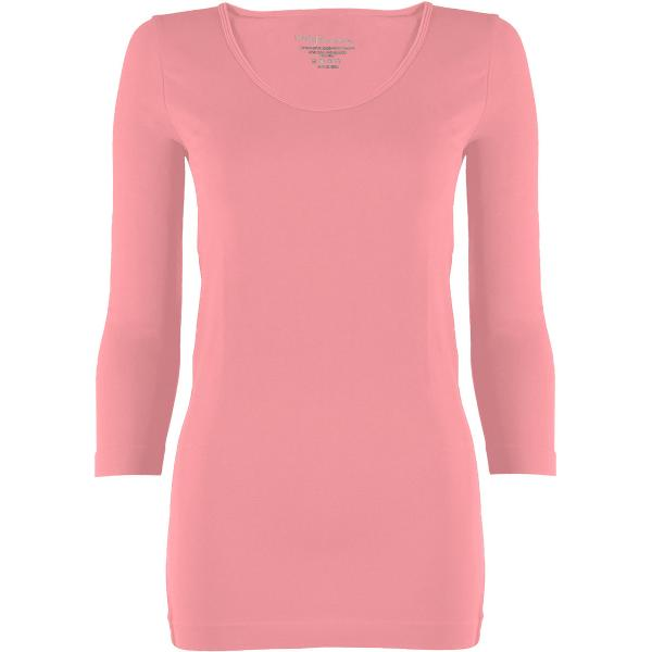 wholesale Magic SmoothWear with Sleeves Light Pink Three Quarter Sleeve - One Size Fits (S-XL) TQ