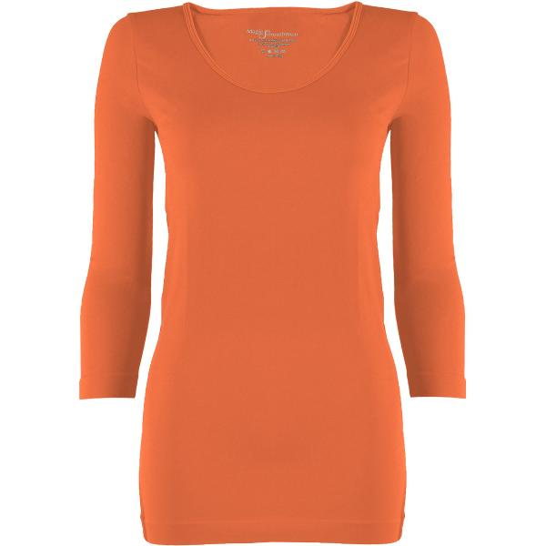 wholesale Magic SmoothWear with Sleeves Melon Three Quarter Sleeve - One Size Fits (S-XL) TQ