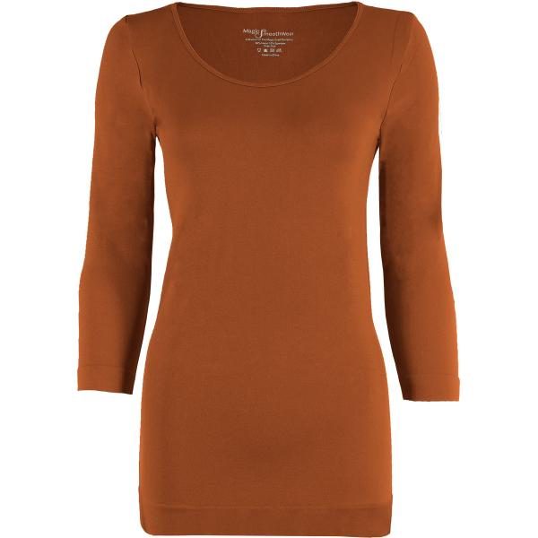 wholesale Magic SmoothWear with Sleeves Paprika Three Quarter Sleeve - One Size Fits (S-XL) TQ