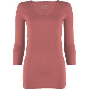 wholesale Magic SmoothWear Three Quarter & Long Sleeve Rose Three Quarter Sleeve - One Size Fits (S-XL) TQ