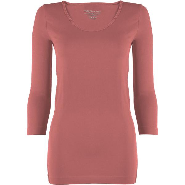 wholesale Magic SmoothWear with Sleeves Rose Three Quarter Sleeve - One Size Fits (S-XL) TQ