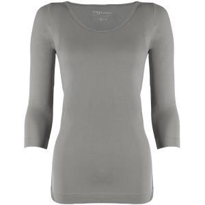 wholesale Magic SmoothWear Three Quarter & Long Sleeve Silver Three Quarter Sleeve - One Size Fits (S-XL) TQ