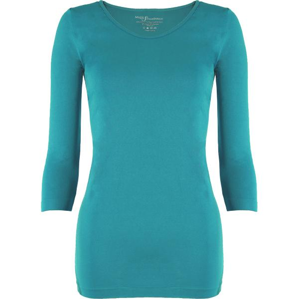 wholesale Magic SmoothWear with Sleeves Teal Green Three Quarter Sleeve - One Size Fits (S-XL) TQ