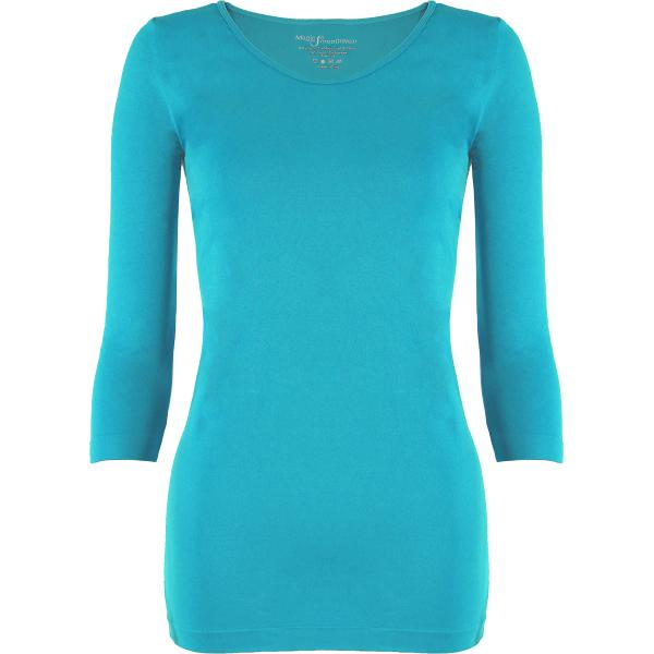 wholesale Magic SmoothWear with Sleeves Turquoise Three Quarter Sleeve - One Size Fits (S-XL) TQ