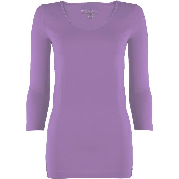 wholesale Magic SmoothWear with Sleeves Violet Three Quarter Sleeve - One Size Fits (S-XL) TQ