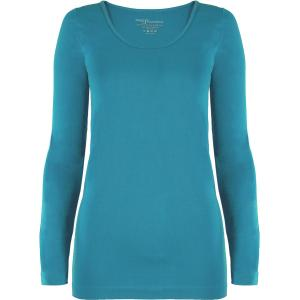 wholesale Magic SmoothWear Three Quarter & Long Sleeve Aqua Long Sleeve - One Size Fits (S-XL) TQ