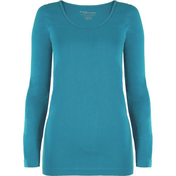 wholesale Magic SmoothWear with Sleeves Aqua Long Sleeve - One Size Fits (S-XL) TQ