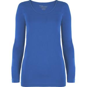 wholesale Magic SmoothWear Three Quarter & Long Sleeve Blue Long Sleeve - One Size Fits (S-XL) Long Sleeve