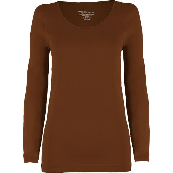 wholesale Magic SmoothWear with Sleeves Chestnut Long Sleeve - One Size Fits (S-XL) Long Sleeve