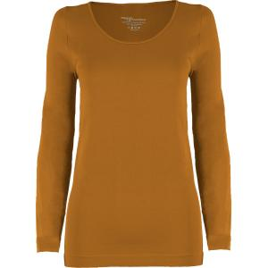 wholesale Magic SmoothWear Three Quarter & Long Sleeve Copper Long Sleeve - One Size Fits (S-XL) Long Sleeve