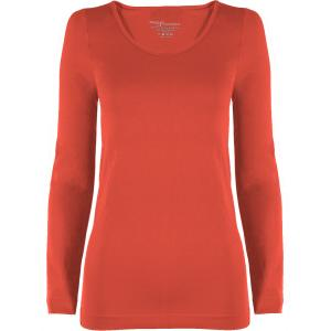wholesale Magic SmoothWear Three Quarter & Long Sleeve Coral Long Sleeve - One Size Fits (S-XL) Long Sleeve
