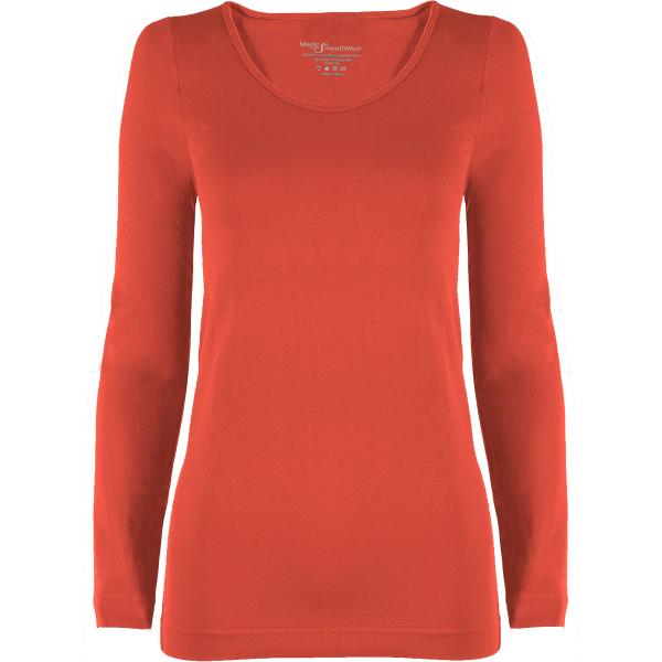 wholesale Magic SmoothWear with Sleeves Coral Long Sleeve - One Size Fits (S-XL) Long Sleeve