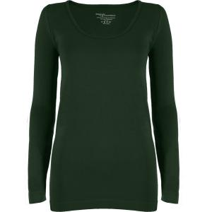 wholesale Magic SmoothWear Three Quarter & Long Sleeve Dark Hunter Green Long Sleeve - One Size Fits (S-XL) Long Sleeve