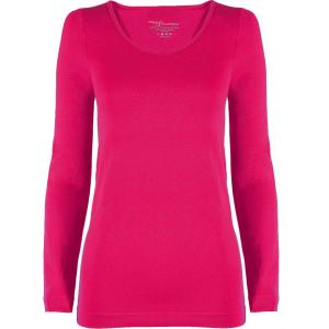 wholesale Magic SmoothWear Three Quarter & Long Sleeve Fuchsia Long Sleeve - One Size Fits (S-XL) Long Sleeve
