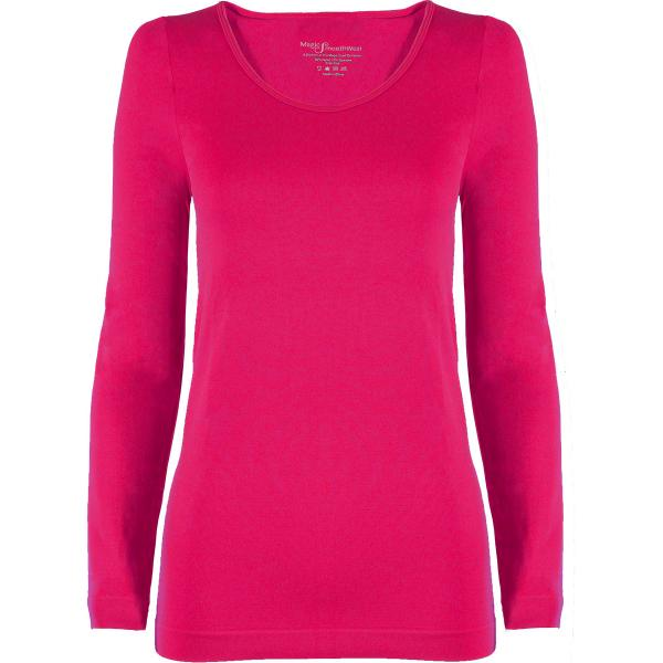 wholesale Magic SmoothWear with Sleeves Fuchsia Long Sleeve - One Size Fits (S-XL) Long Sleeve