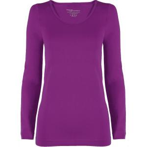 wholesale Magic SmoothWear Three Quarter & Long Sleeve Grape Long Sleeve - One Size Fits (S-XL) Long Sleeve