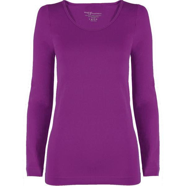 wholesale Magic SmoothWear with Sleeves Grape Long Sleeve - One Size Fits (S-XL) Long Sleeve