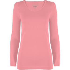 wholesale Magic SmoothWear Three Quarter & Long Sleeve Light Pink Long Sleeve - One Size Fits (S-XL) Long Sleeve