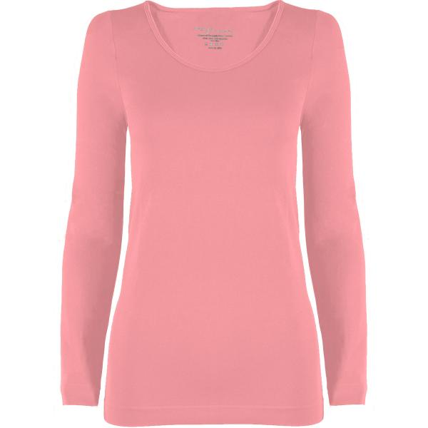 wholesale Magic SmoothWear with Sleeves Light Pink Long Sleeve - One Size Fits (S-XL) Long Sleeve