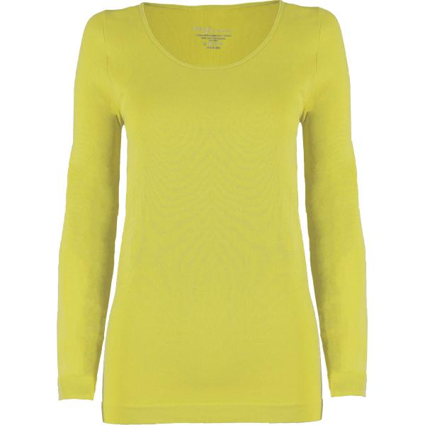 wholesale Magic SmoothWear with Sleeves Light Yellow Long Sleeve - One Size Fits (S-XL) Long Sleeve