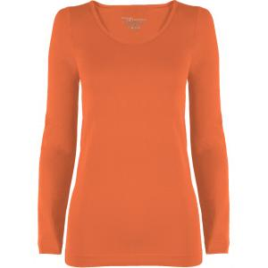 wholesale Magic SmoothWear Three Quarter & Long Sleeve Melon Long Sleeve - One Size Fits (S-XL) Long Sleeve