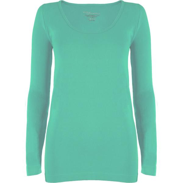 wholesale Magic SmoothWear with Sleeves Mint Long Sleeve - One Size Fits (S-XL) Long Sleeve