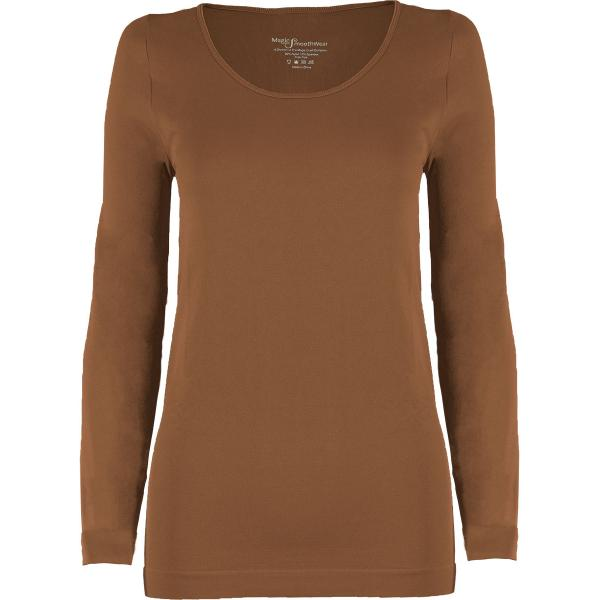 wholesale Magic SmoothWear with Sleeves Mocha Long Sleeve - One Size Fits (S-XL) Long Sleeve