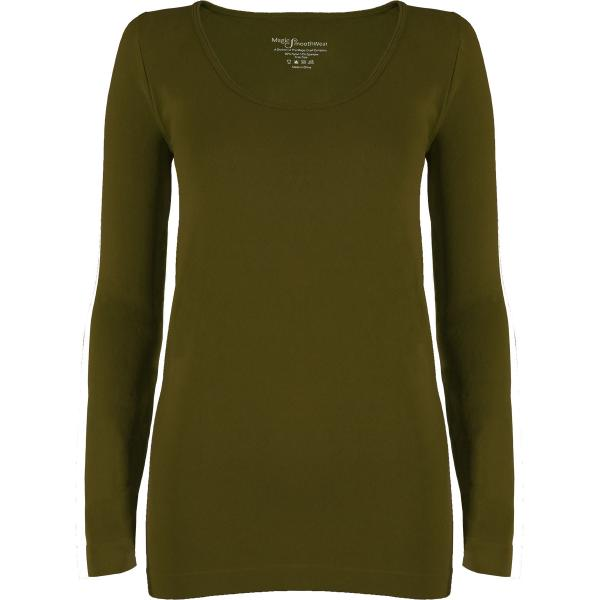 wholesale Magic SmoothWear with Sleeves Olive Long Sleeve - One Size Fits (S-XL) Long Sleeve