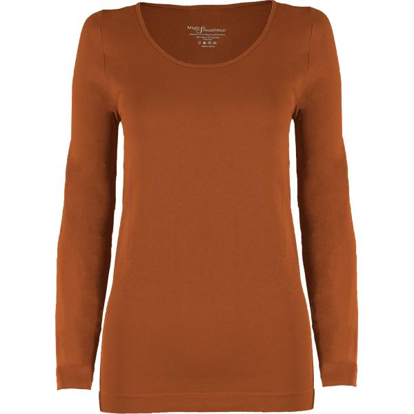 wholesale Magic SmoothWear with Sleeves Paprika Long Sleeve - One Size Fits (S-XL) Long Sleeve