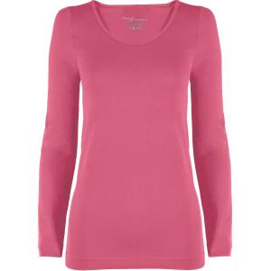 wholesale Magic SmoothWear Three Quarter & Long Sleeve Pink Long Sleeve - One Size Fits (S-XL) Long Sleeve