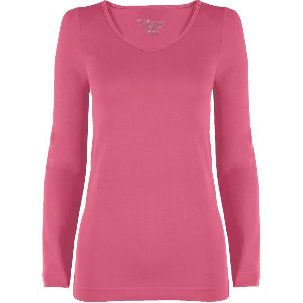 wholesale Magic SmoothWear with Sleeves Pink Long Sleeve - One Size Fits (S-XL) Long Sleeve