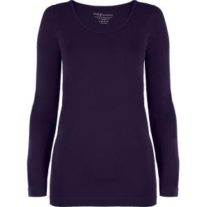 wholesale Magic SmoothWear Three Quarter & Long Sleeve Plum Long Sleeve - One Size Fits (S-XL) Long Sleeve