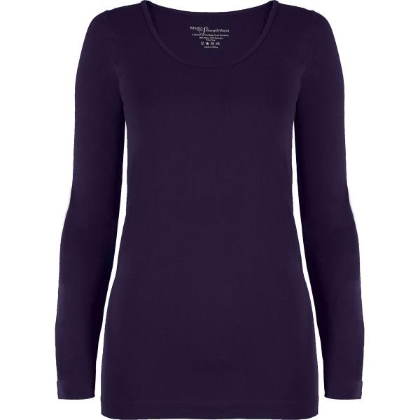 wholesale Magic SmoothWear with Sleeves Plum Long Sleeve - One Size Fits (S-XL) Long Sleeve