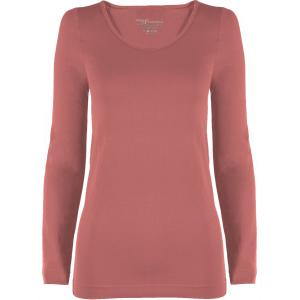 wholesale Magic SmoothWear Three Quarter & Long Sleeve Rose Long Sleeve - One Size Fits (S-XL) Long Sleeve