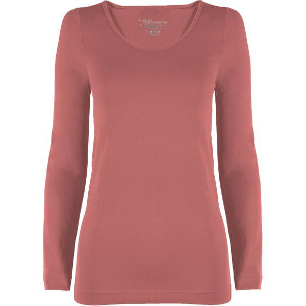 wholesale Magic SmoothWear with Sleeves Rose Long Sleeve - One Size Fits (S-XL) Long Sleeve