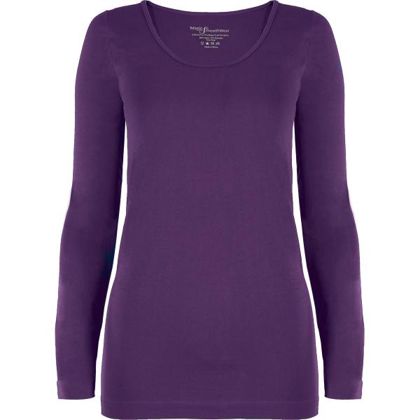 wholesale Magic SmoothWear with Sleeves Royal Purple Long Sleeve - One Size Fits (S-XL) Long Sleeve