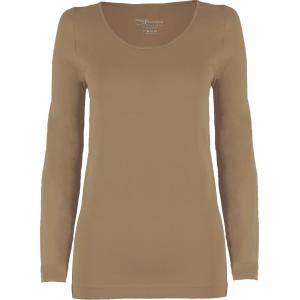 wholesale Magic SmoothWear Three Quarter & Long Sleeve Taupe Long Sleeve - One Size Fits (S-XL) Long Sleeve