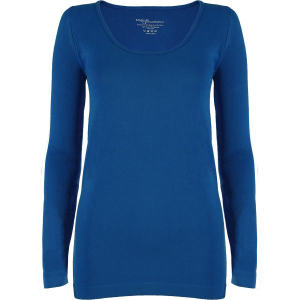 wholesale Magic SmoothWear with Sleeves Teal Blue Long Sleeve - One Size Fits (S-XL) Long Sleeve