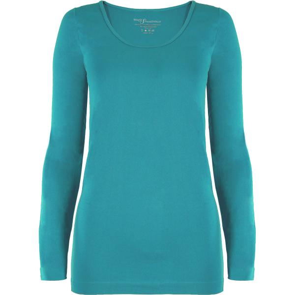 wholesale Magic SmoothWear with Sleeves Teal Green Long Sleeve - One Size Fits (S-XL) Long Sleeve