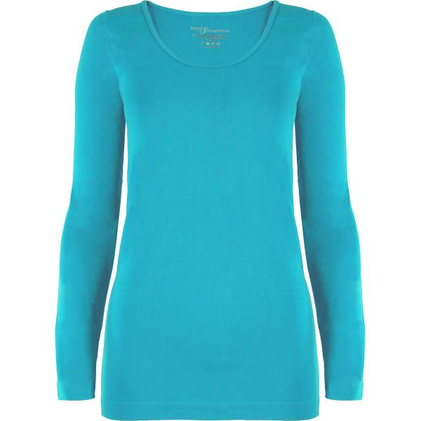 wholesale Magic SmoothWear with Sleeves Turquoise Long Sleeve - One Size Fits (S-XL) Long Sleeve