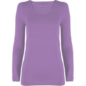 wholesale Magic SmoothWear Three Quarter & Long Sleeve Violet Long Sleeve - One Size Fits (S-XL) Long Sleeve