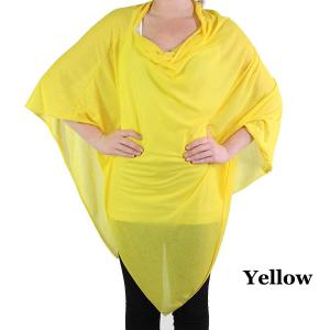 wholesale Poncho - Jersey Knit Yellow (#6) (MB) -
