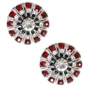 wholesale Magnetic Brooches Starburst Design - Double Sided 408 Christmas (Double Sided) -