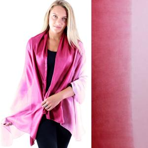 Shawls - Boutique Charmeuse #21 Ombre Raspberry -