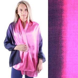 Shawls - Boutique Charmeuse #35 Ombre Navy-Pink -
